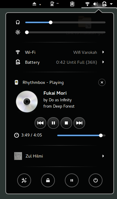 Extension: Media Player Indicator