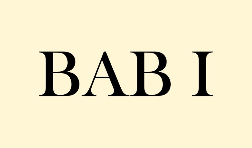 BAB 1: Ngomongin SNS dan MakhlukSejenisnya