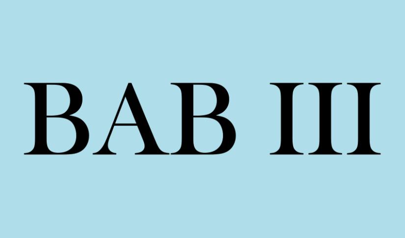 BAB 3: Nganalisis